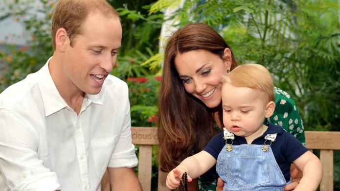 Prince William gets serious about baby