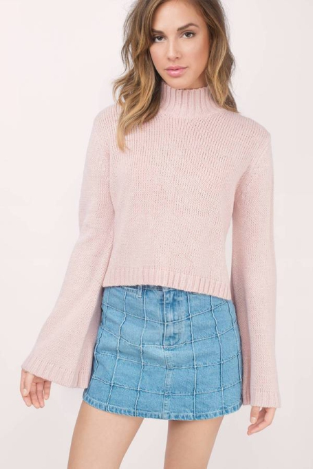 Cozy Sweaters For Under $100: Benson Blush Sweater | Fall Fashion 2017