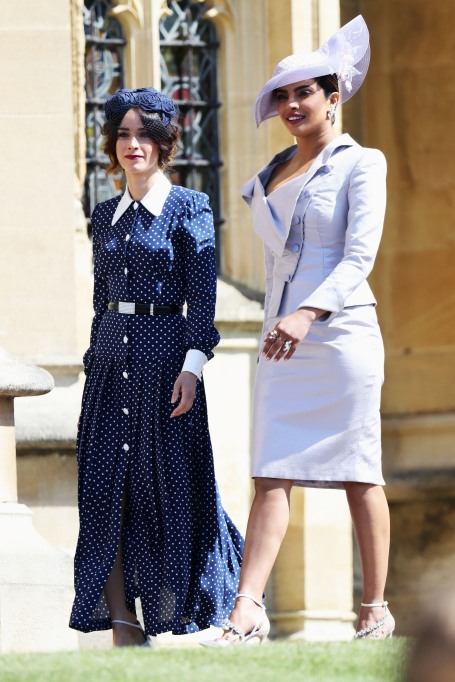 Priyanka Chopra & Abigail Spencer royal wedding