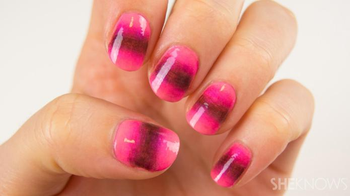 Nail art tutorial: A new take