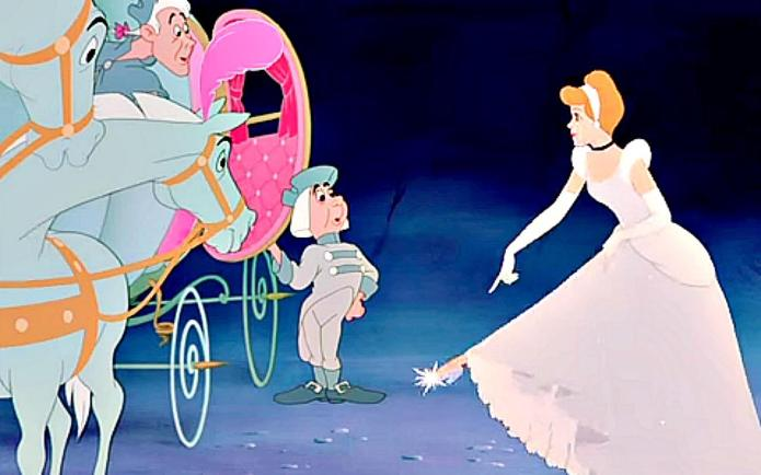 Cinderella's glass slipper reimagined by top