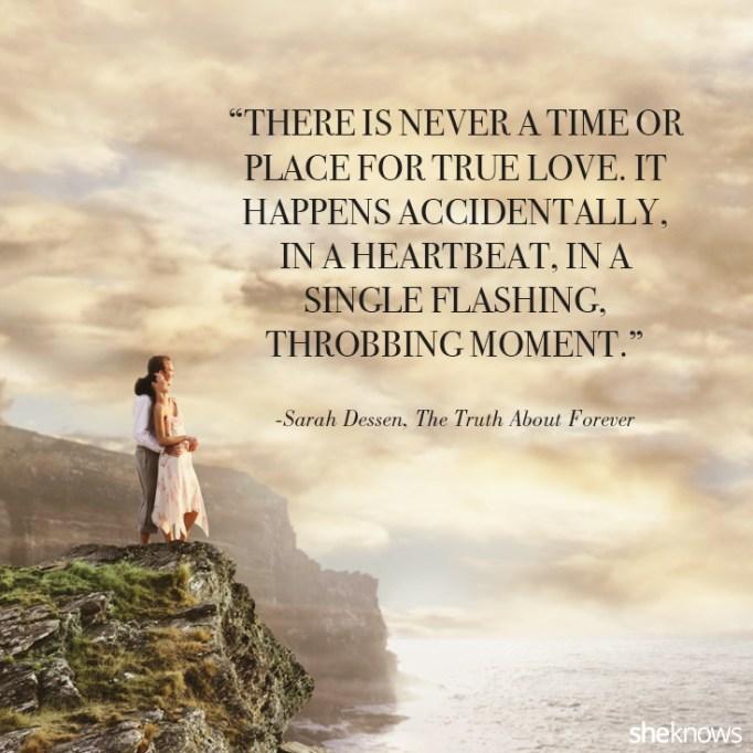 Sarah Dessen love quote