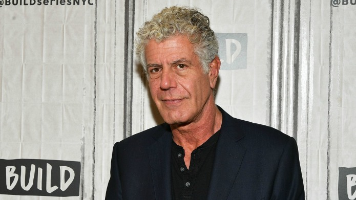 Anthony Bourdain Hosted a Dinner Party