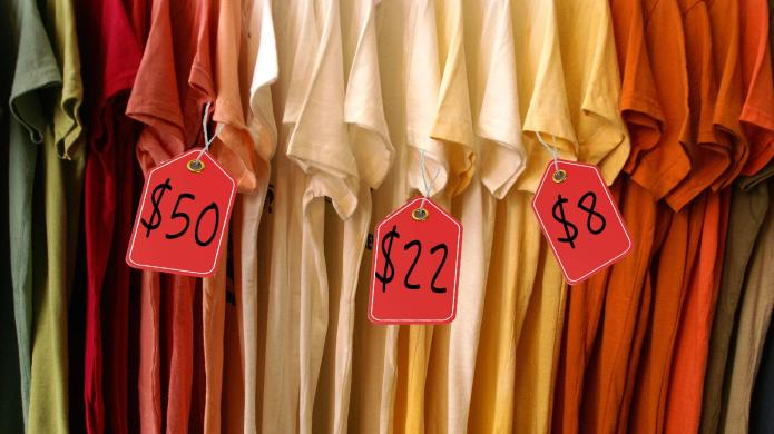 Why some T-shirts are five dollars