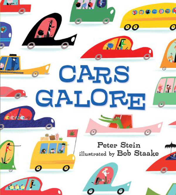 Rhyming Books For Early Readers And Young Poets: Cars Galore