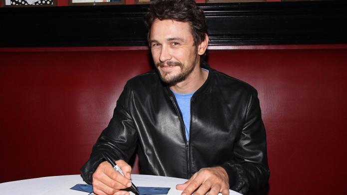 James Franco hosts Beetlejuice-meets-Batman dinner party,
