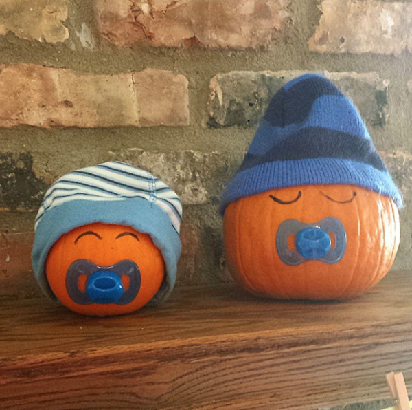Pumpkin themed baby shower