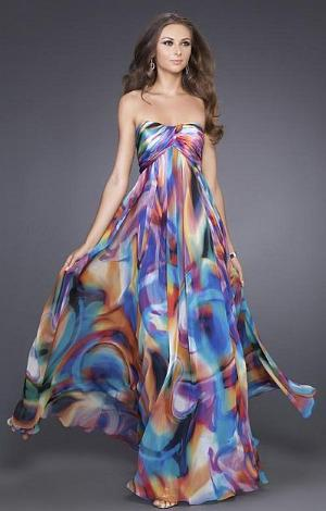 Spring trend: Watercolor print dresses