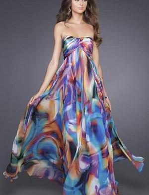 Spring trend: Watercolor print dresses