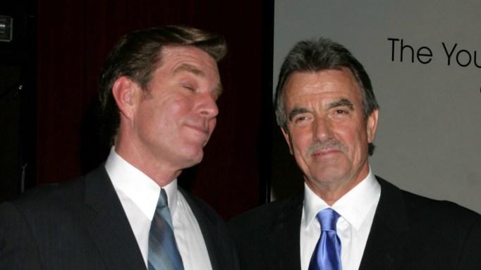 Peter Bergman and Eric Braeden