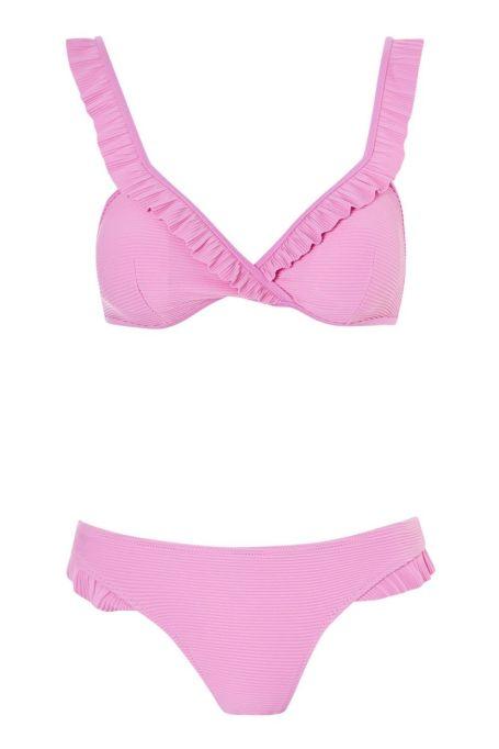 Topshop Ruffled Bikini