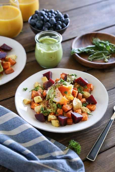 Recipe swaps to help your partner eat healthier | healthy eggs benedict