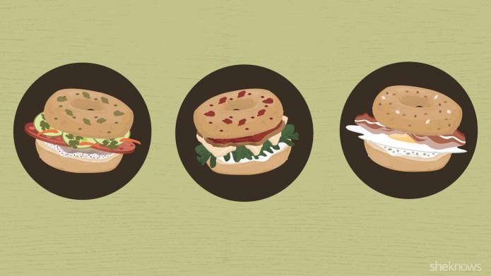 15 Bagel sandwiches that will satisfy
