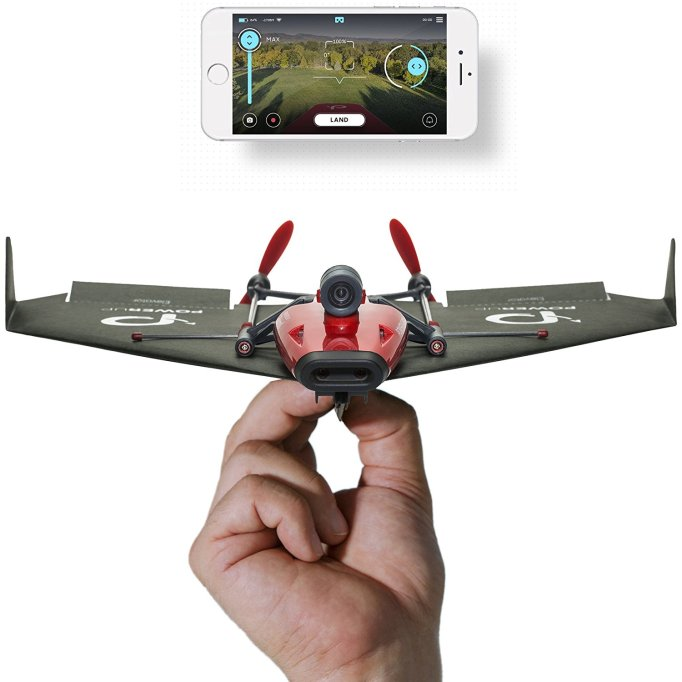 Powerup FPV Smartphone Controlled Paper Airplane