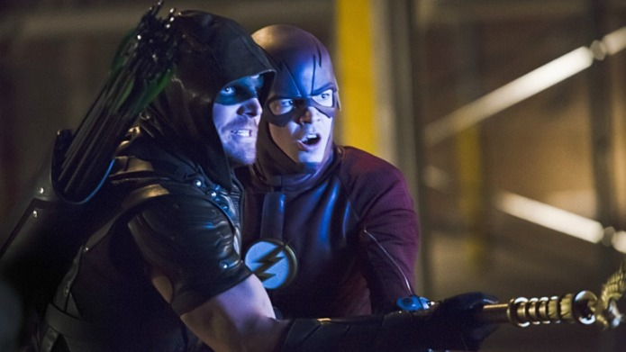 Arrow's time travel episode: Cool plot