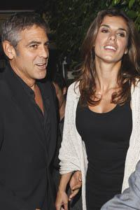 George Clooney getting ready to get