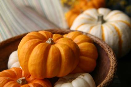 Sustainable Centerpiece - Pumpkin