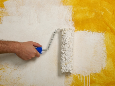 Transform rooms with fresh paint
