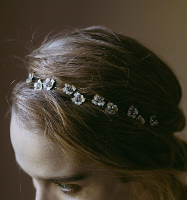 Ethereal Bridal Hair Accessories | Cassiopia Bandeaux