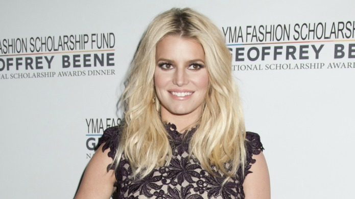 Jessica Simpson gushes over her daughter's
