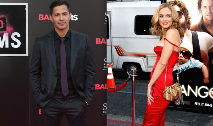 Jay Hernandez and Heather Graham