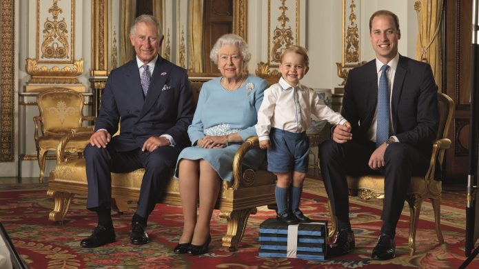 4 generations of royals pose for