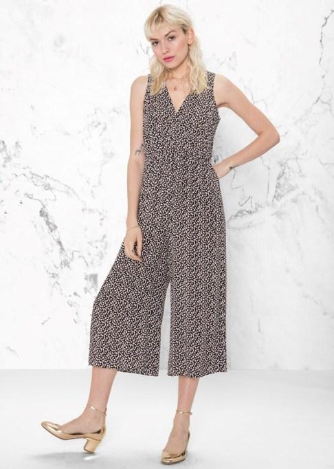 Dressy Jumpsuits: & Other Stories Macchiato Print Jumpsuit | Summer Fashion 2017