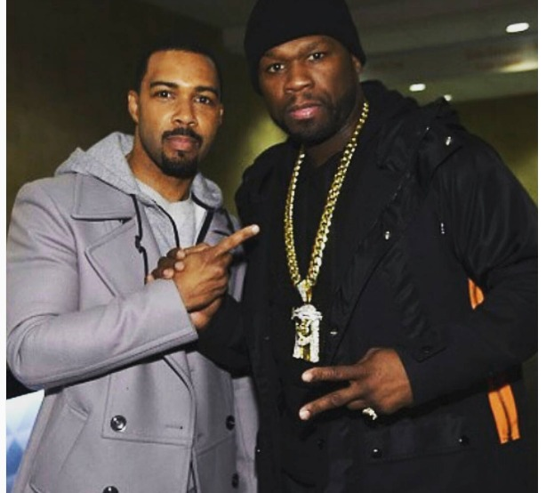 Omari Hardwick and 50 Cent