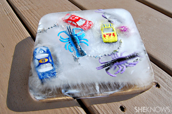 Fun summer ice cube crafts for kids – SheKnows