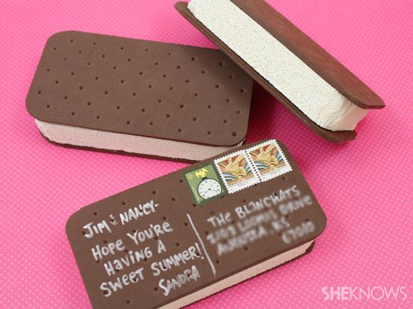 Mailable ice cream sandwich | SheKnows.com
