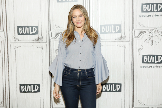 Alicia Silverstone visits Build Studio to discuss the television show 'American Woman'