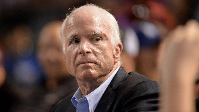 John McCain Talks About Death —