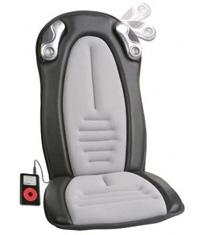 iCush Music Sync Programmable Massage Seat Cushion