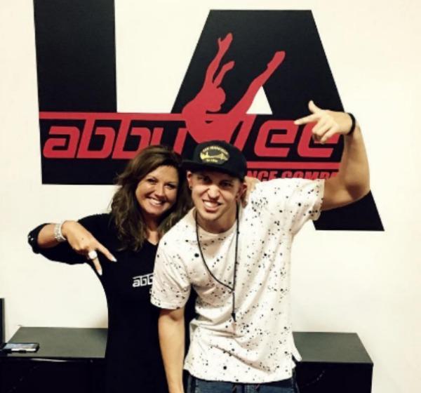 Abby Lee Miller and Matt Steffanina