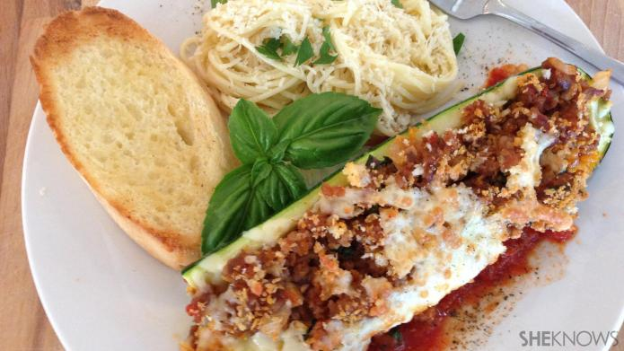 Meals in minutes: Zucchini boats