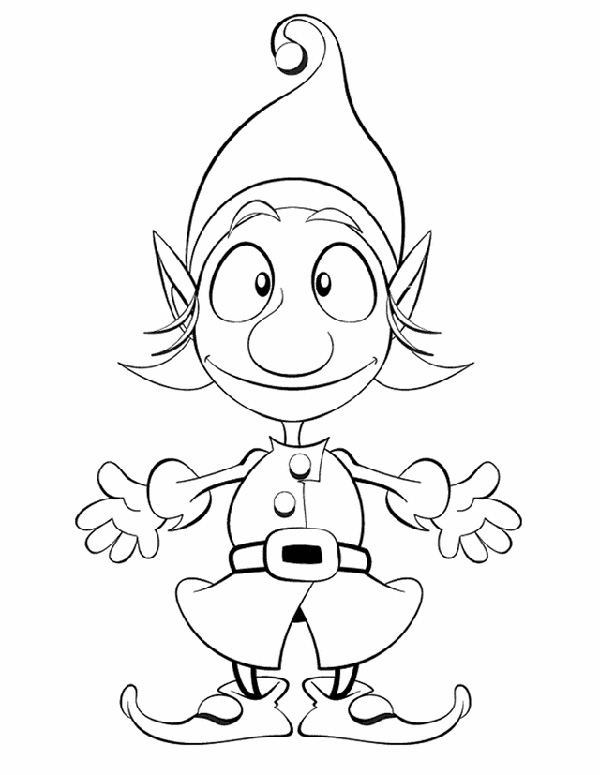 santas elf 53 christmas themed coloring activity pages