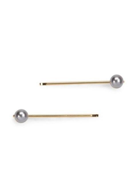 L. Erickson Little Swarovski Pearl Bobby Pin