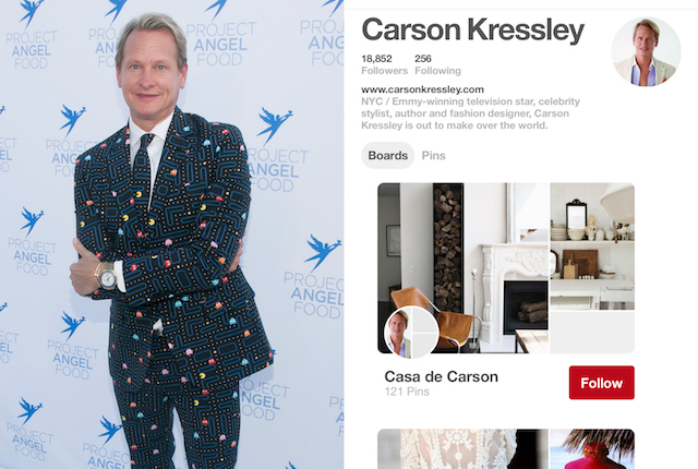 Celebs on Pinterest: Carson Kressly
