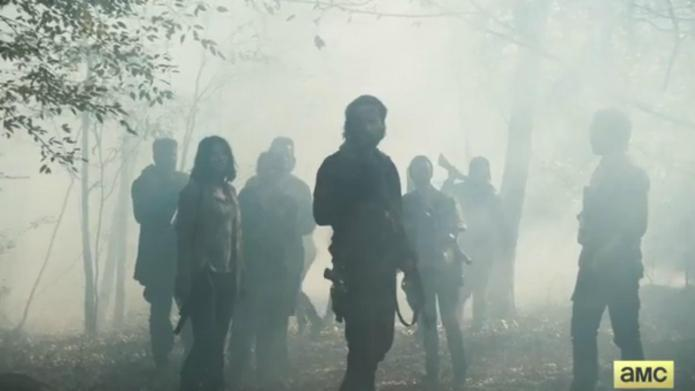 The new Walking Dead trailer shows