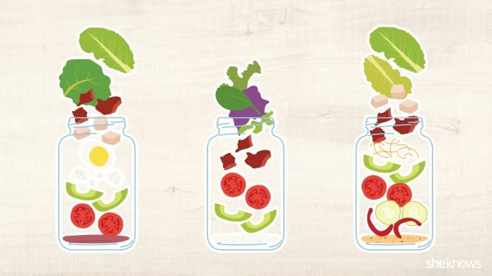 A guide to mason jar salads