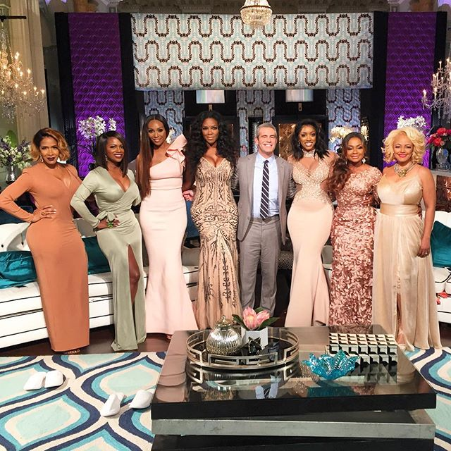 Andy Cohen and The Real Housewives of Atlanta cast