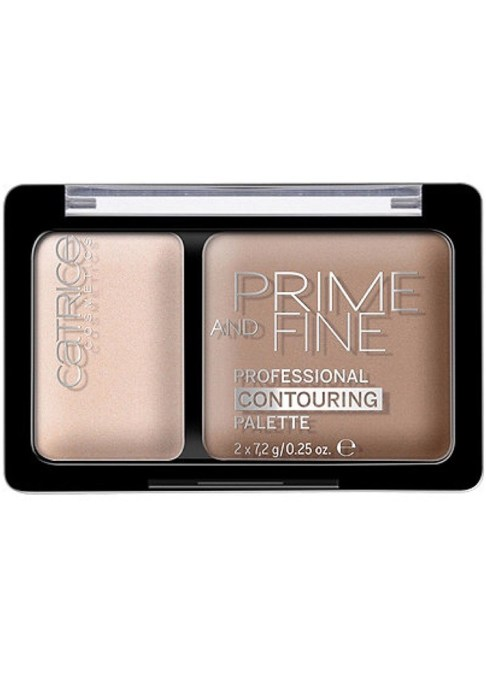 Contour Palettes For Almost Every Skin Tone: Catrice Prime & Fine Professional Contouring Palette   Summer Makeup 2017