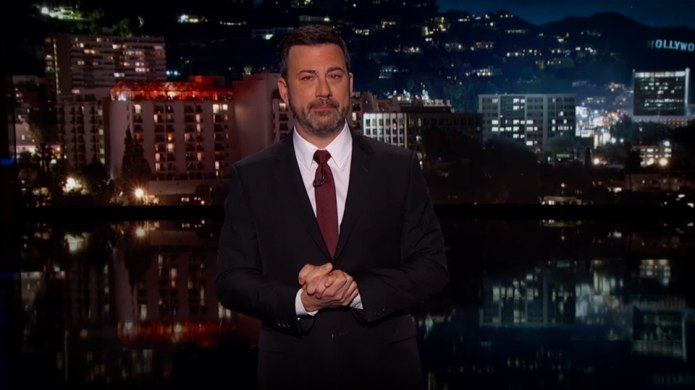 Jimmy Kimmel Is Back, Says Son's