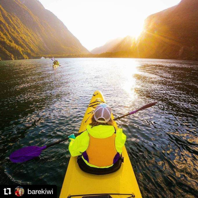 Beautiful Adventure Destinations: Kayak New Zealand's Fiordland