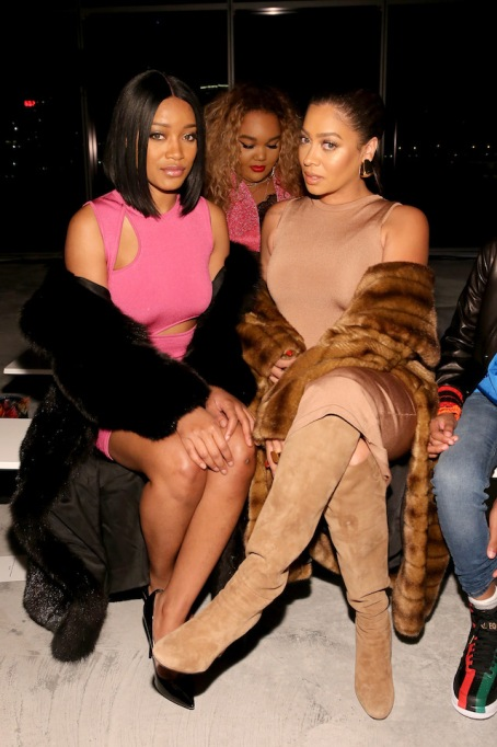NYFW 2018 Celebrity Sightings: KeKe Palmer & La La Anthony