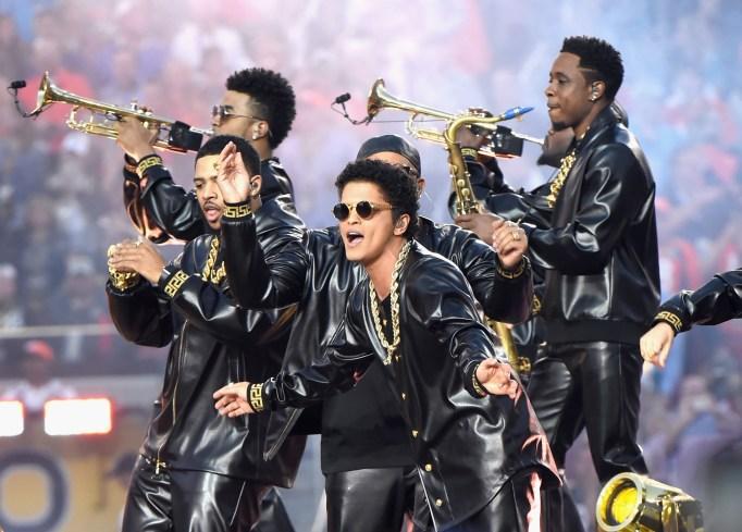 Bruno Mars Super Bowl 50