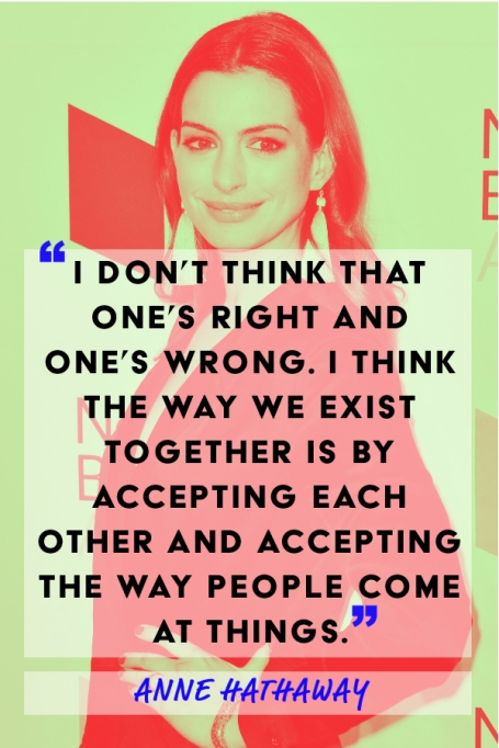 Anne Hathaway feminism quote