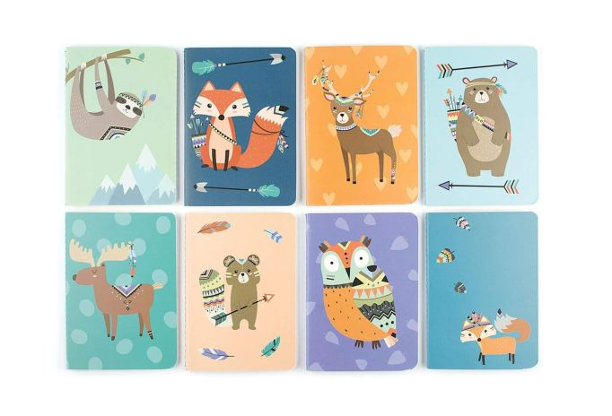 Pocket Pal journal pack forest friends