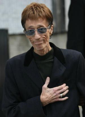 """Robin Gibb is """"on the road"""
