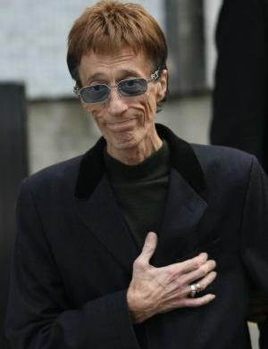 "Robin Gibb is ""on the road"